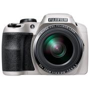 富士 S9900W 长焦数码相机 白色(1600万像素 50倍光学变焦 3英寸LCD EVF取景器 Wi-Fi)
