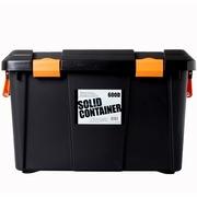 爱丽思 RVBOX600D 环保后备箱储物箱 车载整理收纳箱 黑色 40升