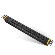 突破 PDU工业级机柜防雷防电涌插座/8位3米2.5平方线万用孔16A插头/07TG130301/插座/插线板/插排