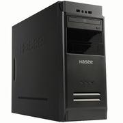 神舟 新梦K80 D2 台式主机(酷睿四核I5-4460 4G 1TB DVD GT730 2G独显)黑