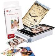 LG 趣拍得 相片打印机优惠套装(5盒相纸+PD238相印机)