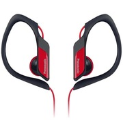 松下 RP-HS34E-R 入耳式 运动耳机 红色 佩戴舒适 防水 超轻设计 低音清晰饱满