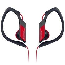 松下 RP-HS34E-R 入耳式 运动耳机 红色 佩戴舒适 防水 超轻设计 低音清晰饱满产品图片主图