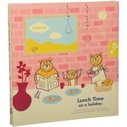 NCL  日本原装进口相册 diy 宝宝相册 生日礼物 成长纪念 儿童 亲子 系列 小熊的一家 1504