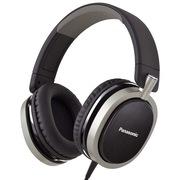 松下 RP-HX550E-K 头戴耳罩式耳机 黑色 支持DTS 11.1声道音质高清震撼  电脑 手机耳机