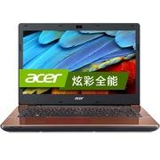 宏碁 E5-471G-56SZ 14英寸笔记本(i5-5200U 4G 500G GeForce 840M 2G独显 蓝牙 win8.1)浅咖啡