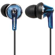 松下 RP-TCM190E-A 入耳式耳机 蓝色 低音出色 ERGOFIT豪华升级版 打造纯音质 隔绝噪音