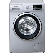西门子 WM12P2C81W 9公斤 3D变速节能 滚筒洗衣机(银色)