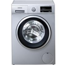 西门子 WM12P2C81W 9公斤 3D变速节能 滚筒洗衣机(银色)产品图片主图