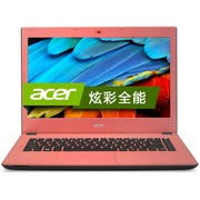 宏碁 E5-422G-43VK 14英寸笔记本(四核A4-7210 4G 500GB R5 M335 2G独显 蓝牙 Win8.1)