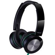 松下 RP-HXS400E-K 头戴式耳机 黑色 手机 电脑耳罩式耳机 音效强劲