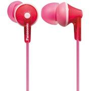 松下 RP-TCM125E-P 入耳式耳机 粉红色 佩戴舒适 带线控麦克风 隔绝噪音 音质清晰