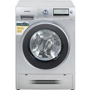 西门子 WD15H5681W 7.5公斤 3D空气冷凝 滚筒洗衣干衣机(银色)