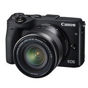 佳能 EOS M3(EF-M 18-55mm f/3.5-5.6 IS STM)微型单电套机 黑色