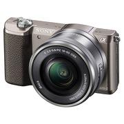 索尼 ILCE-5100L 微单套机 棕色(16-50mm镜头 2430万像素 a5100/α5100)