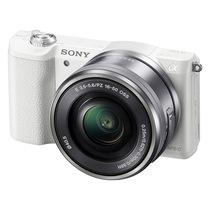 索尼 ILCE-5100L 微单套机 白色(16-50mm镜头 2430万像素 a5100/α5100)产品图片主图