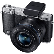 三星 NX3000智能WIFI 微型单电套机(20mm-50mm)内置16G卡 闪光灯(黑色)