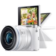 三星 NX3000智能WIFI 微型单电套机(20mm-50mm)内置16G卡 闪光灯(白色)