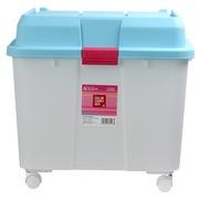 爱丽思 IRIS 亮彩滑轮储物箱 汽车整理箱工具箱 540-蓝