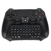 wirelessor 索尼PS4游戏机手柄控制器用蓝牙键盘 W3807黑色