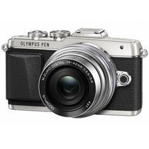 奥林巴斯 E-PL7-1442-EZ 银色 电动饼干镜头套装 超薄镜头 可翻转触摸屏 新一代自拍小七 全新上市产品图片主图