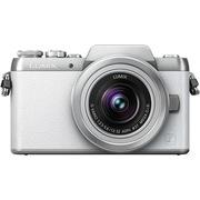 松下 Lumix DMC-GF7 微型单电单镜套机 白色 手动变焦版 自拍利器(12-32mm GF6升级版微单 DMC-GF7KGK-W)