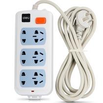 得力 3992 新国标6位总控电源插座/插排/插线板/拖线板 2.8米产品图片主图