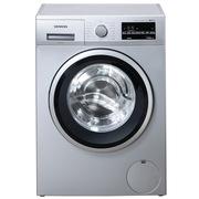 西门子 WS12K2C81W 6.2公斤 3D变速节能 滚筒洗衣机(银色)