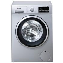 西门子 WS12K2C81W 6.2公斤 3D变速节能 滚筒洗衣机(银色)产品图片主图