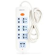 得力 3997 新国标7位总控电源插座/插排/插线板/拖线板 2.8米