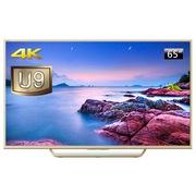 索尼  U9 65英寸4K超高清 安卓5.0系统智能液晶电视(金色)