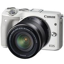 佳能 EOS M3(EF-M 18-55mm f/3.5-5.6 IS STM) 微型单电套机 白色套装版(16G卡+相机包)产品图片主图
