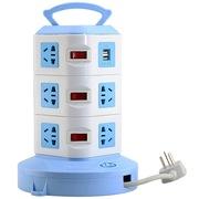 清华同方 TF-3012USB 2.8m 立式2.8米11位+ 双USB /插座/插排/插线板