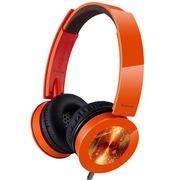 松下 RP-HXS400E-D 头戴式耳机 橙色 手机 电脑耳罩式耳机 音效强劲
