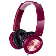 松下 RP-HXS400E-P 头戴式耳机 粉色 手机 电脑耳罩式耳机 音效强劲