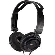 松下 RP-DJS150E-K 黑色 头戴式便携式耳机 可折叠至手掌大小