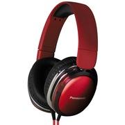松下 RP-HX350ME-R 头戴耳罩式耳机 红色 手机 电脑耳机 音质高清震撼 佩戴舒适 便携