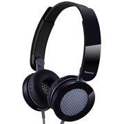松下 RP-HXS200E-K 头戴式耳机 黑色 手机 电脑耳罩式耳机 酷炫耳罩 非凡音效