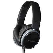 松下 RP-HX250ME-K 头戴式耳机 黑色 手机 电脑耳罩式耳机 带线控麦克风