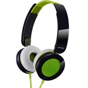 松下 RP-HXS200E-G 头戴式耳机 绿色 手机 电脑耳罩式耳机 酷炫耳罩 非凡音效