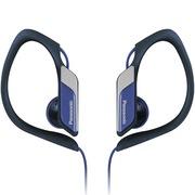 松下 RP-HS34E-A 入耳式 运动耳机 蓝色 佩戴舒适 防水 超轻设计 低音清晰饱满