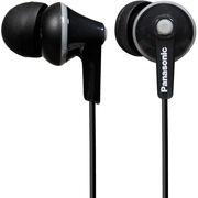 松下 RP-HJE125GK-K 缤纷入耳式耳机 黑色 佩戴舒适  隔绝噪音 音质清晰