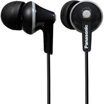 松下 RP-HJE125GK-K 缤纷入耳式耳机 黑色 佩戴舒适  隔绝噪音 音质清晰产品图片主图