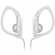 松下 RP-HS34E-W 入耳式 运动耳机 白色 佩戴舒适 防水 超轻设计 低音清晰饱满