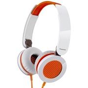 松下 RP-HXS200E-D 头戴式耳机 橙色 手机 电脑耳罩式耳机 酷炫耳罩 非凡音效