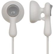 松下 RP-HV41GK-W 白色 升级版糖果线夹 可爱时尚型 耳塞式耳机