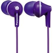 松下 RP-HJE125GK-V 缤纷入耳式耳机 紫色 佩戴舒适  隔绝噪音 音质清晰