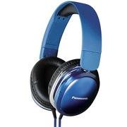 松下 RP-HX350ME-A 头戴耳罩式耳机 蓝色 手机 电脑耳机 音质高清震撼 佩戴舒适 便携