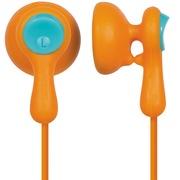 松下 RP-HV41GK-D 橙色 升级版糖果线夹 可爱时尚型 耳塞式耳机