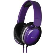 松下 RP-HX350ME-V 头戴耳罩式耳机 紫色 手机 电脑耳机 音质高清震撼 佩戴舒适 便携